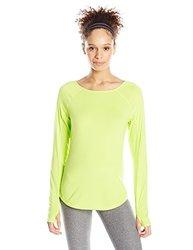Asics Women's Fuzex Long Sleeve Top - Pistachio - Size: Small