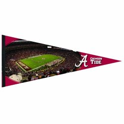 NCAA Alabama Crimson Tide 17-by-40 Inch Premium Quality Pennant