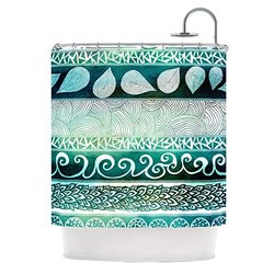 KESS InHouse Dreamy Tribal Shower Curtain