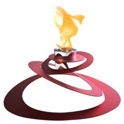Decorpro Ovia Steel Bio Ethanol Tabletop Fireplace
