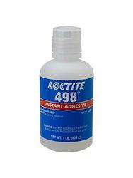 Loctite 498 Super Bonder Instant Adhesive - 16 fl. oz. Bottle - Clear