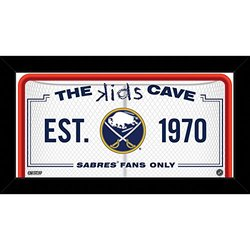 "Steiner Sports NBA Kids 10x20"" Buffalo Sabres Cave Sign"