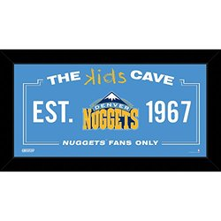 Denver Nuggets 10x20 Kids Cave Sign