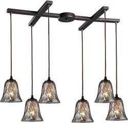 ELK Lighting Six Light Oiled Bronze Multi Light Pendant-46000/6