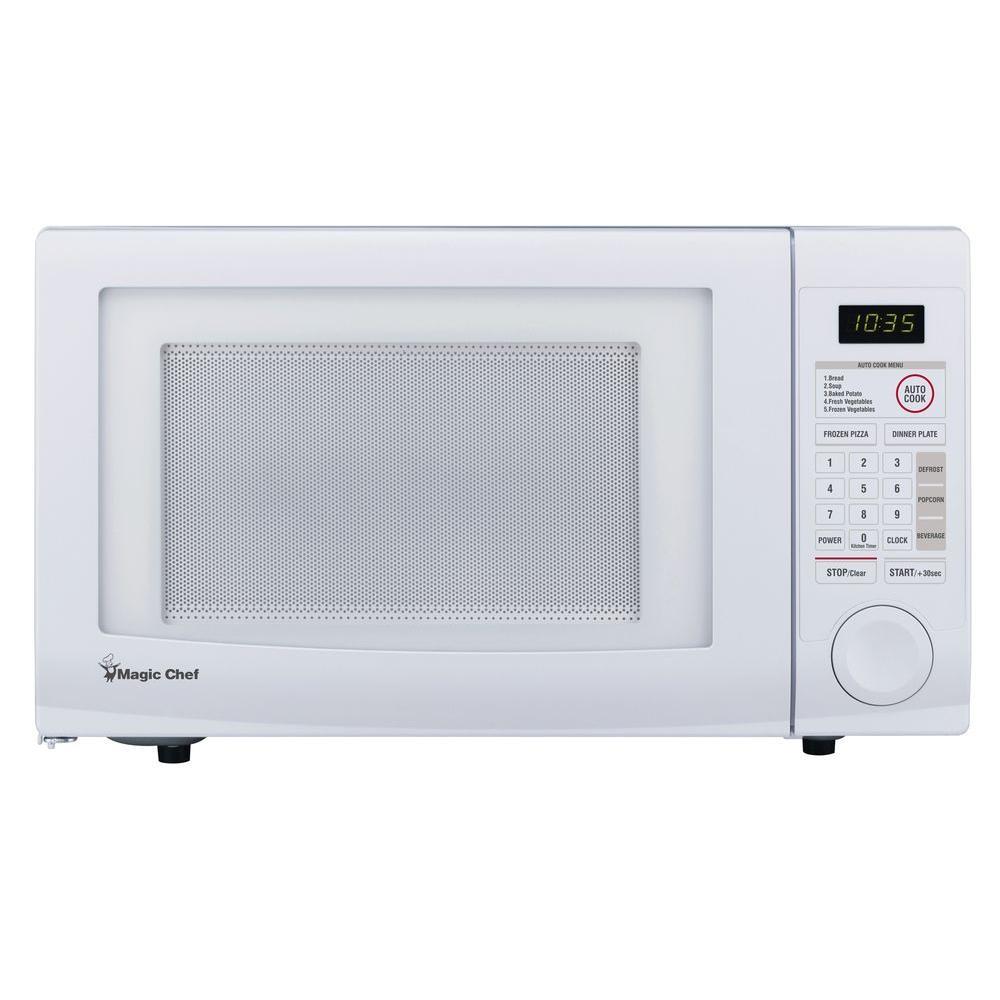Magic Chef HMD1110W 1.1 cu.ft. Countertop Microwave - White - Check ...