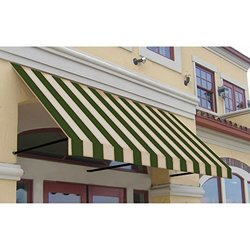Awntech ER2442-10SLCR, Window/Entry Awning 10-3/8'W x 2'H x 3-1/2'D Sage/Linen/Cream
