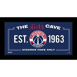 """Steiner Sports Washington Wizards Kids Cave Sign - Size: 10"""" x 20"""""""