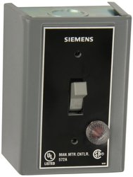 Siemens MMSKGJ1A 1 & 3 Phase 2-Poles Red Pilot Light Fractional HP Switch
