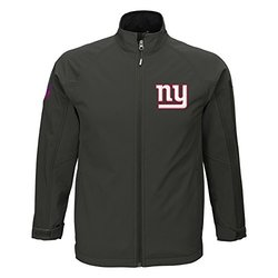NFL New York Giants Boys 8-20 Transitional Shell Jacket - Cool Grey / L