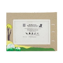 "Mr Ellie Pooh Poo Paper Natural Kraft Photo Frame - Size: 4"" x 6"""