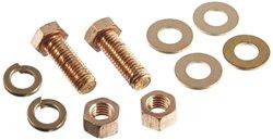 "Burndy Durium 10-Piece 1.5"" Bolt Length Silicon Bronze Hardware Kit"