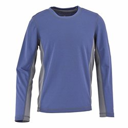White Sierra Boys Sun Buster Long Sleeve Tee, X-Large, Blue Indigo