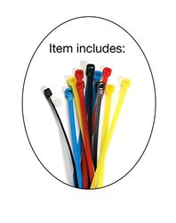 250 Feet - Blue - Snagless Cat6 Ethernet Patch Cable by Aurum Cables with Cable Ties and Clips