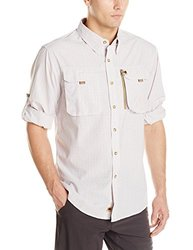 Buffalo Jackson Trading Co Men's Riverdale Fishing Shirt, Pink Plaid, XX-Large
