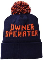 Owner Operator Made In America Knit Hat, Navy, One Size