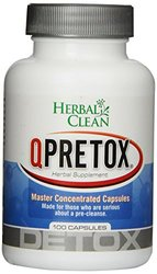 QPreTox Herbal Clean Detox 100 Caps