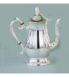 Leeber Romantica Coffee Pot Silver Plate-Tarnish Resistant