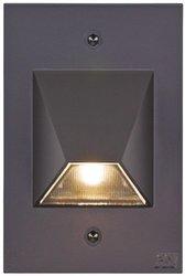 CSL Lighting SS3003 LED Steplight\x2fWall Mount; SS3003-BZ