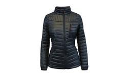 Spire by Galaxy Women's Packable Puffer Jacket - Black - Size: L