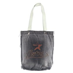 MLB Houston Astros Vintage Shopper Bag, Black
