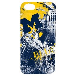 NCAA Michigan Wolverines Paulson Spirit Case for iPhone 5/5s - Black / M