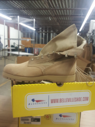 Belleville  Hot Weather Boot - Desert Tan - Size: 16.5