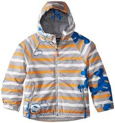 Paul Frank Boy's Skurvy Rip Stripe Jacket, Grey, X-Large