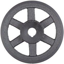"Martin BK160 1 FHP Sheave BS, 4L/5L or B Belt Section, 1 Groove, 1"" Bore, Class 30 Gray Cast Iron, 15.75"" OD, 1575 max rpm, 15 Datum/15.4 Datum"