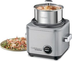 Cuisinart Stainless Steel 4-Cup Rice Cooker