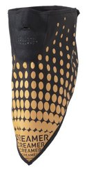 Screamer Men's Phantom Dots Facemask, Black/Orange, One Size