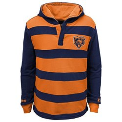 Boys 8-20 Chicago Bears Hooded Rugby Sweater