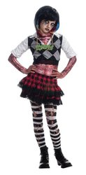 Girl Zombie Punk Rocker #1 Costume, Medium