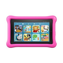 "Amazon Fire Kids Edition 7"" 8GB Tablet With Bumper - Pink"
