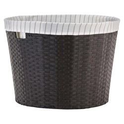 Threshold Tapered Round Decorative Basket with Liner - Large