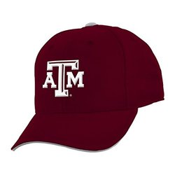 NCAA Youth Boys Texas A&M Aggies Basic Structured Adjustable Cap - Maroon
