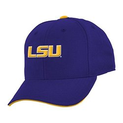 LSU Tigers Youth Basic Structured Adjustable Hat