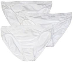 Jockey Women's 100% Cotton Staycool Hi Cuts - 3 Pack - Size: 3