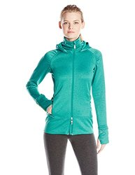 Tamagear Women's Saddleback Full Zip Mid-Layer Jacket, Emerald, X-Small