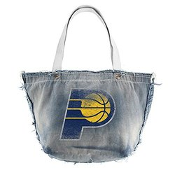 Littlearth NBA Indiana Pacers Vintage Tote- Blue