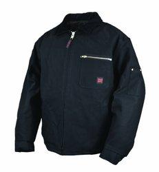 Tough Duck Men's Quilt Lined Work Jacket, Black, 3X-Large