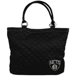 NBA Brooklyn Nets Quilted Tote, Black