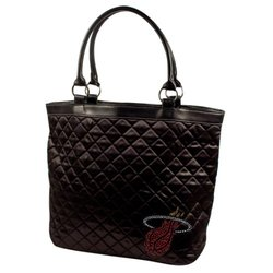 Miami Heat Sport Noir Quilted Tote black
