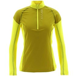 Adidas Women's Terrex Swift Skyclimb Top - Bright Yellow - Size: X-Large