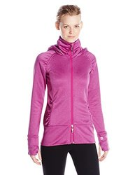 Tamagear Women's Saddleback Full Zip Mid-Layer Jacket - Fuchsia - Large