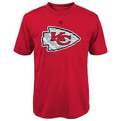 NFL Youth Boys Kansas City Chiefs T-Shirt - Red - Size: Large/14-16