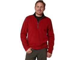 Royal Robbins Men's Gunnison 1/4 Zip Sweater - Dark Firecracker - Sz: L