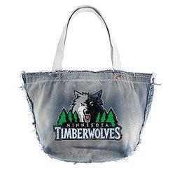 Littlearth NBA Minnesota Timberwolves Vintage Tote - Blue