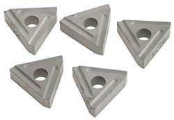 Grizzly Carbide Insert for Cast Iron RH for use w/ G7034 - 5 Pack (G7051)
