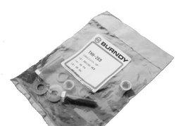 """Burndy 1/2""""-13 Size 1.25"""" Bolt L Durium 10 Pc Silicon Bronze Hardware Kit"""