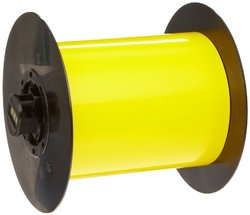 "Brady 25' Lx 2.5"" W B-509 Polyester Yellow BBP31 Magnetic Supply Tape"
